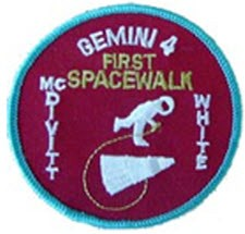 GEMINI 4 1ST SPACEWALK PATCH