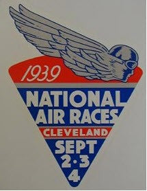 1939 NATIONAL AIR RACE DECAL
