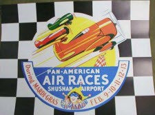 PAN AMERICAN AIR RACES POSTER