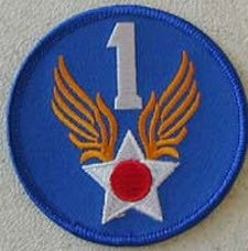 1ST ARMY AIR FORCE PATCH