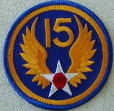 15TH AIR FORCE PATCH