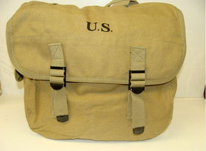 KHAKI US MODEL M1936 COMBAT MUSETTE BAG 1942