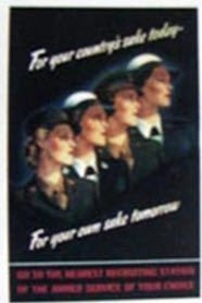 Poster - All Service Women