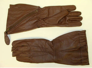 ROYAL AIR FORCE 1941 PATTERN SLANT ZIP FLYING GAUNTLETS