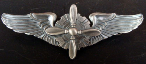 AAF FLIGHT ENGINEER WINGS