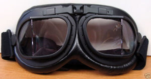 BRITISH MK VIII STYLE FLYING GOGGLES