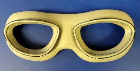 USMC/ US NAVY AN-6530 GOGGLE KHAKI COLORED ONE PIECE FACE CUSHION
