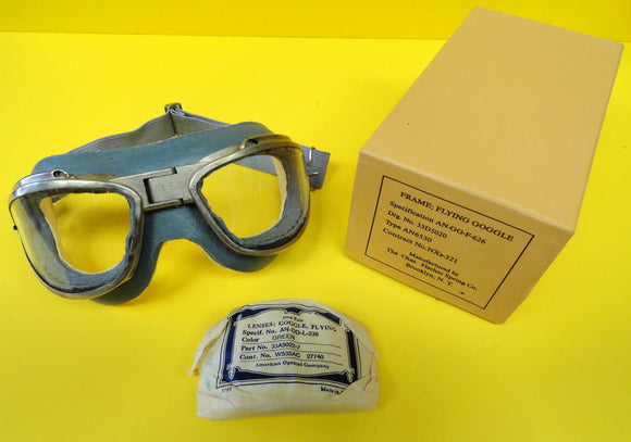 CHAS. FISCHER AN-6530 FLYING GOGGLES  IN THE BOX