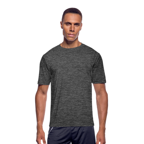 Men's Moisture Wicking Performance T-Shirt - dark heather gray