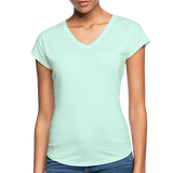 Women's Tri-Blend V-Neck T-Shirt - mint
