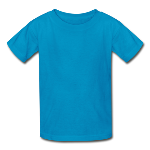 Gildan Ultra Cotton Youth T-Shirt - turquoise