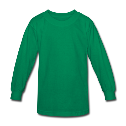 Kids' Long Sleeve T-Shirt - kelly green
