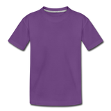 Toddler Premium T-Shirt - purple