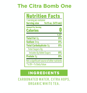 Member 10% Discount -  The Citra Bomb One - 12 pack