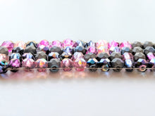 Load image into Gallery viewer, Czech Glass Beaded Bracelet - Stormy Sunset