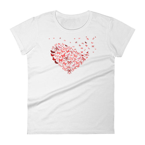 Butterfly Hearts Women's T-Shirt