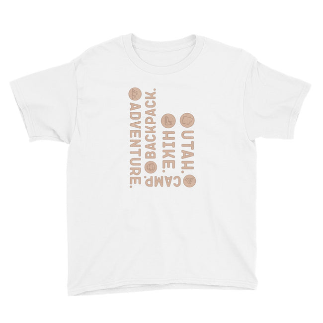 Adventure Utah Youth  T-Shirt