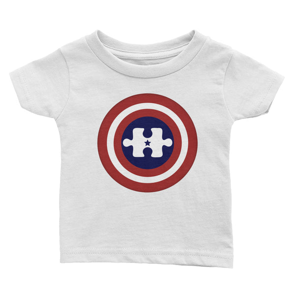 Captain America Autism Hero Toddler Tee