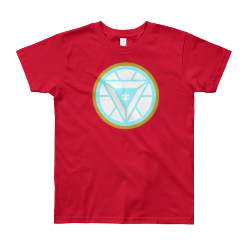 Wear this Iron Man Hero Autism Awareness Hero t-shirt.