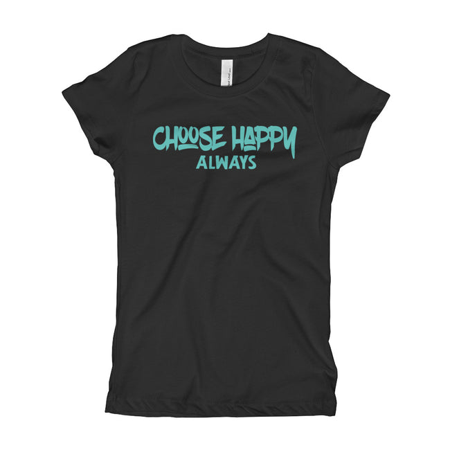 Choose Happy Girl's T-Shirt