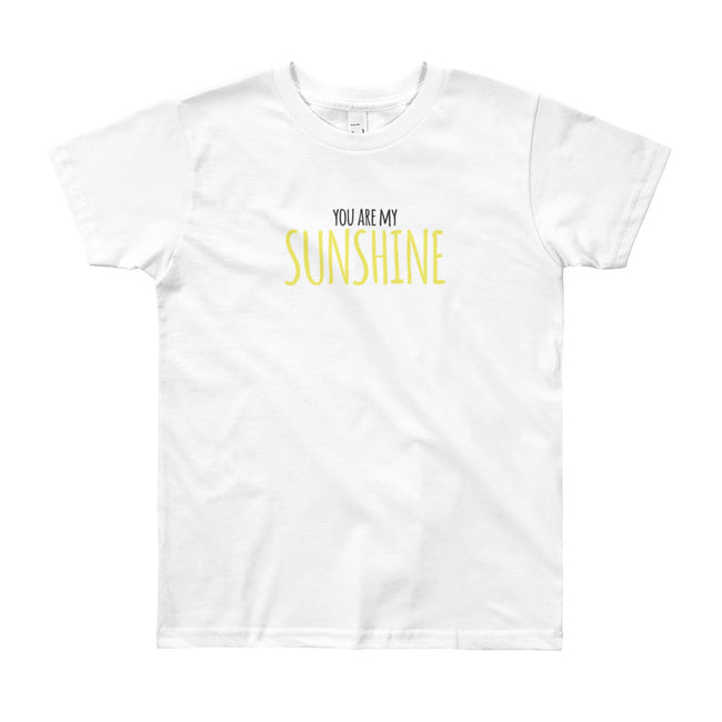 You are my sunshine, my only sunshine tee!