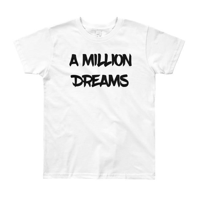 A million dreams t-shirt for kids