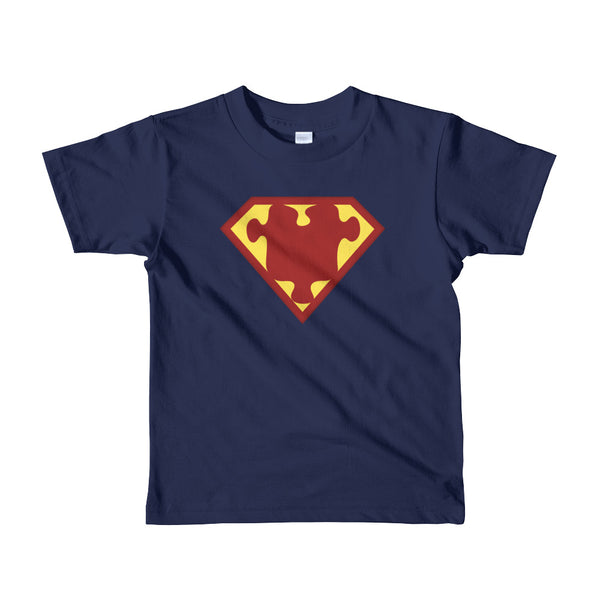Wear this Superman Hero Autism Awareness Hero t-shirt.