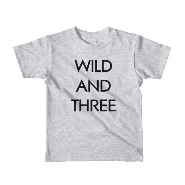 Wild and Three Youth T-Shirt