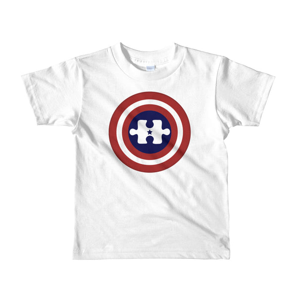 Captain America Autism Hero Youth (2-6 YR) T-Shirt