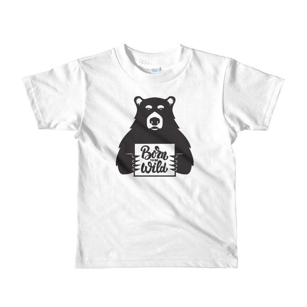 Born To Be Wild Youth (2-6 Y) T-Shirt