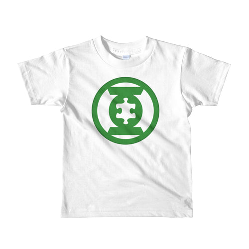 Wear this Green Lantern Hero Autism Awareness Hero t-shirt.