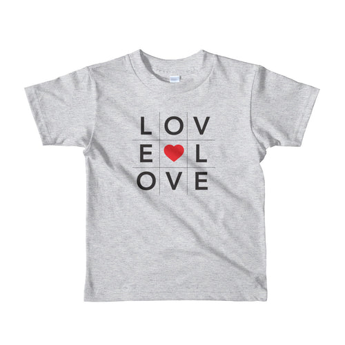 Love shirt in BINGO format, youth shirt