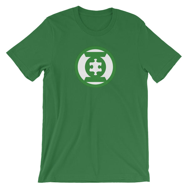 Wear this green Green Lantern Hero Autism Awareness Hero t-shirt.