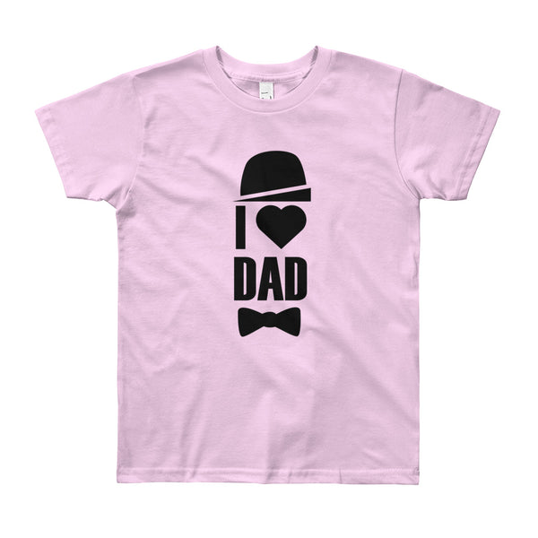 I Love Dad Youth (8-12 YR) T-Shirt