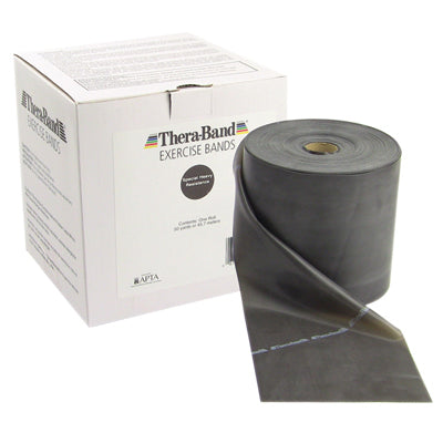 THERA-BAND 50 YD BOX - BLACK