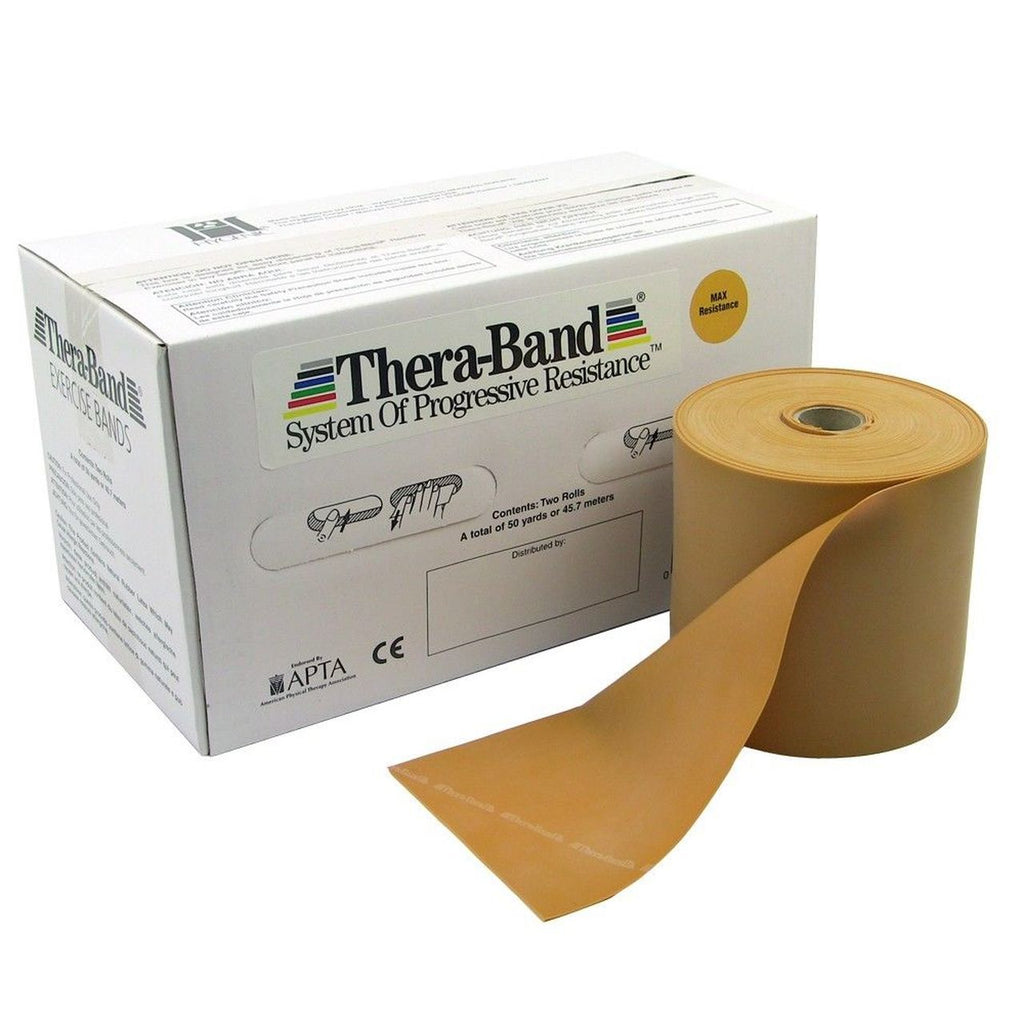 THERA-BAND 50 YD BOX - GOLD