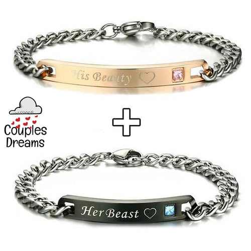 His Beauty & Her Beast Bracelet