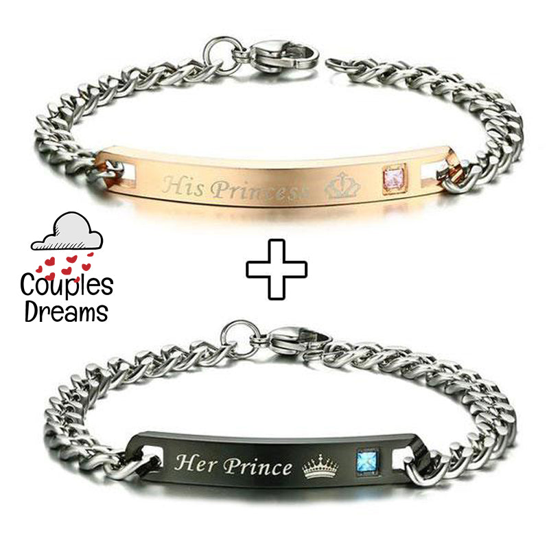 His Princess & Her Prince Bracelet
