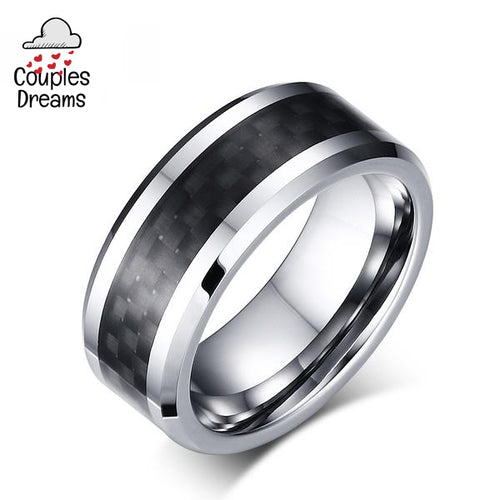 Carbon Fiber Ring For Men