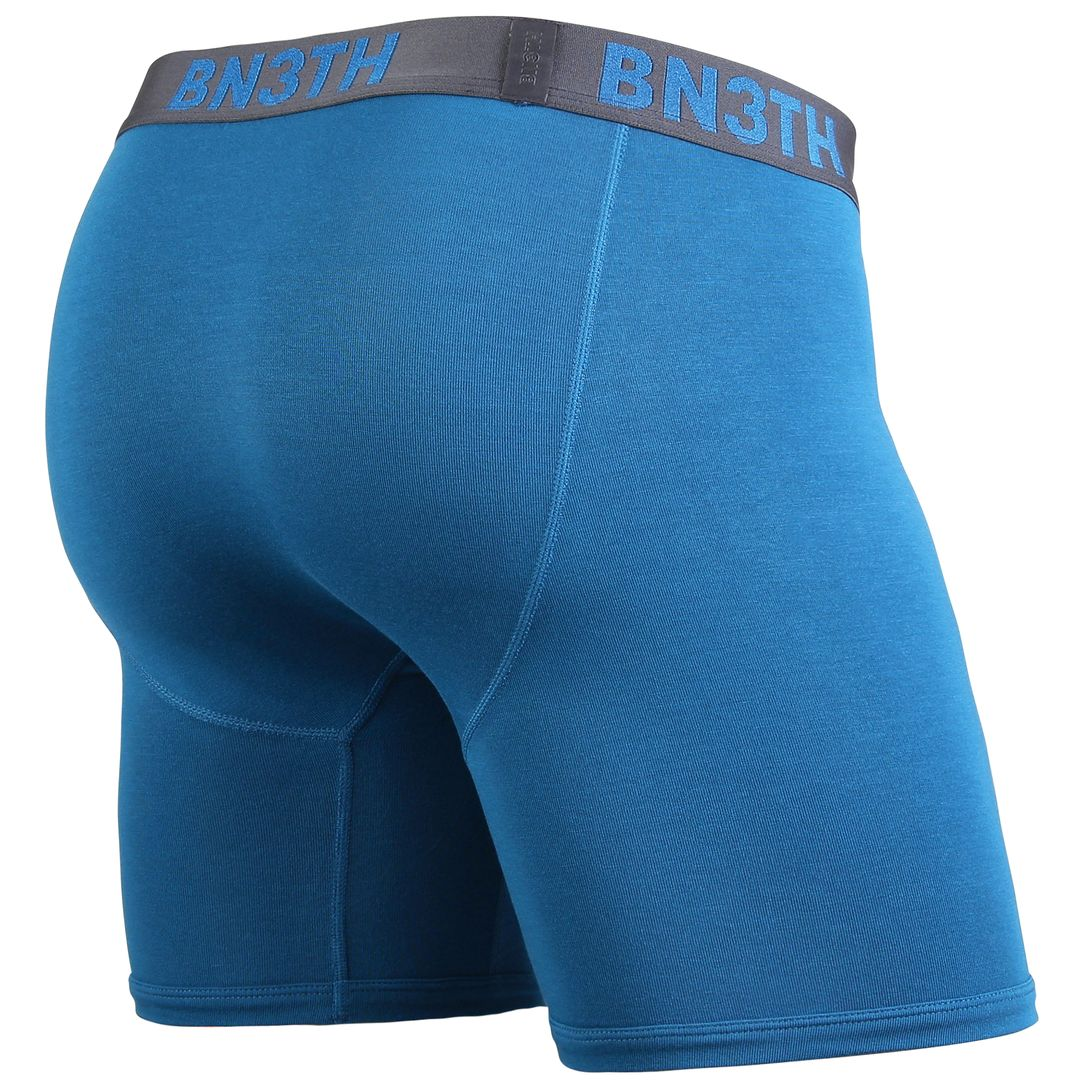 CLASSIC BOXER BRIEF SOLID - TEAL/SLATE