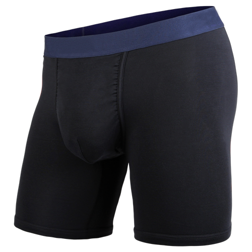 CLASSIC BOXER BRIEF LITE: BLACK/NAVY