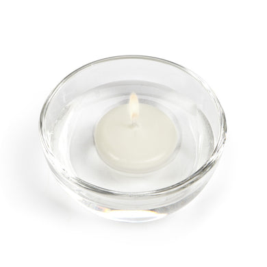 Floating Candle Pack of 6 in Cream
