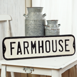 Street Sign Farmhouse