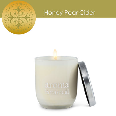 Wax Candle Honey Pear Cider