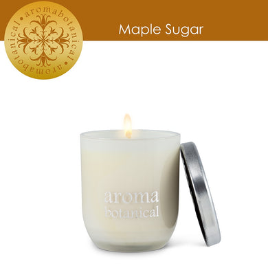 Wax Candle Maple Sugar