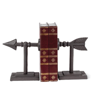 Bookends Cast Iron Arrow
