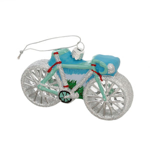 Blown Glass Bicycle Ornament