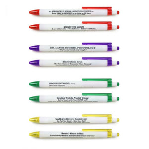 Borrow My Pen? Set of 8