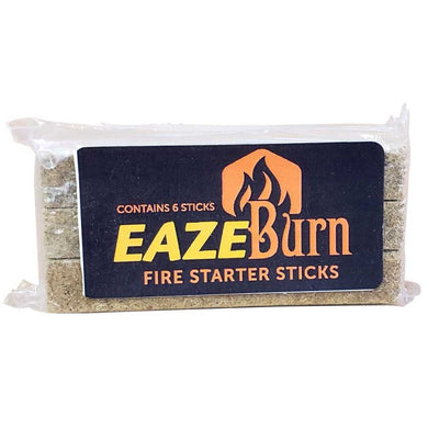 EAZE-Burn Firestarters Pack of 6