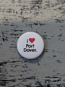 I heart Port Dover Buttons
